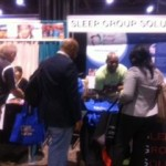 Sleep Group Solutions Gets all the BOOTH Traffic