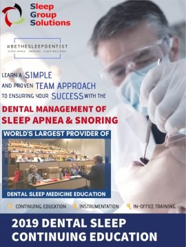 2019 Dental Sleep Continuing Education Booklet