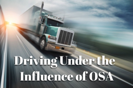 Driving Under the Influence of OSA