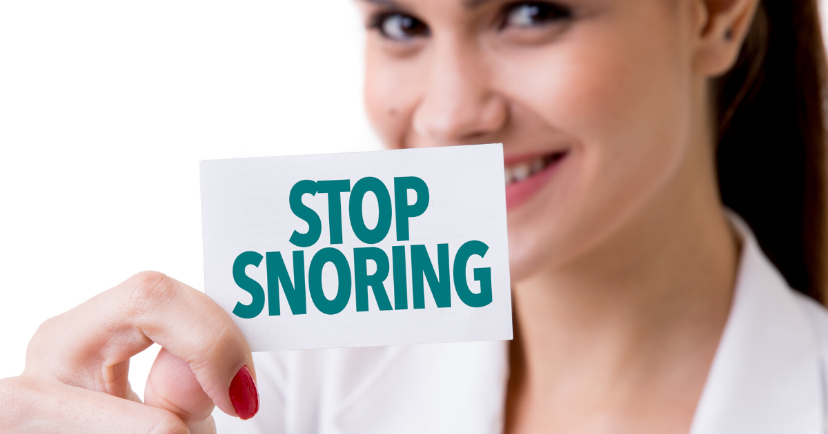 Five Ways to Help Your Patients Stop Snoring